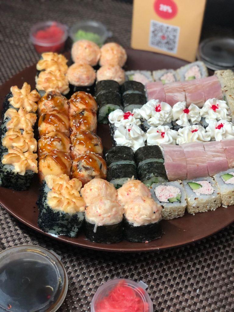 Лучшие блюда японской кухни от компании СУШИСЕТ